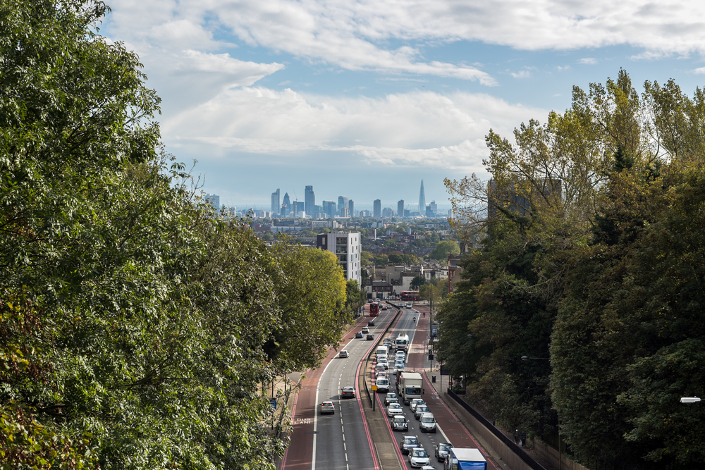 IMAGE - north London property skyline